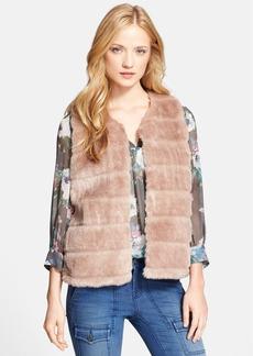 Joie 'Andrina' Faux Fur Vest