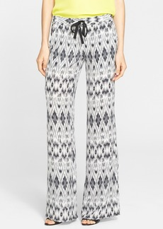 Joie 'Aryn' Ikat Print Silk Pants