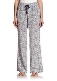 Joie Aryn Printed Silk Pants