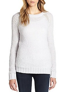 Joie Ashtyn Honeycomb Raglan Sweater