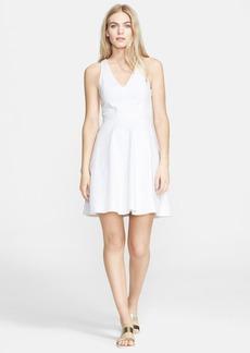 Joie 'Aurina' Stretch Cotton Fit & Flare Dress