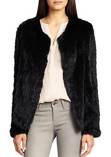 Joie Aviana Rabbit Fur Coat