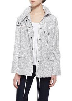 Joie Barker Leopard-Print Tech Jacket