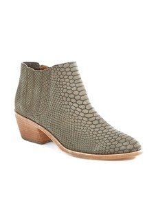 Joie 'Barlow' Snake Embossed Leather Bootie (Women)