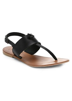 Joie Bastia Leather Thong Sandals