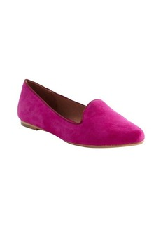 Joie berry faux suede loafers