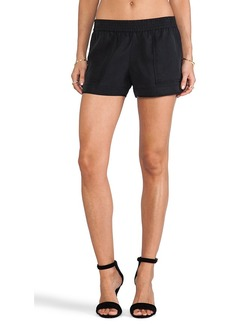 Joie Beso Sandwashed Shorts in Black