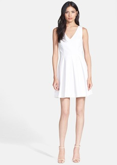 Joie 'Bessina' Stretch Cotton Fit & Flare Dress
