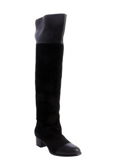 Joie black suede 'Sabra' knee high boots