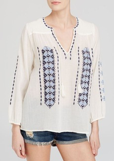 Joie Blouse - Calantha Embroidered