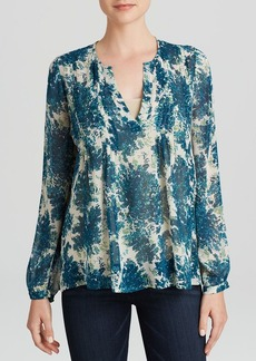 Joie Blouse - Cantoria Botanical Bunches Silk