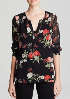 Joie Blouse - Maurelle Floral Printed Silk