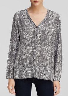 Joie Blouse - Michi Leopard Print Silk