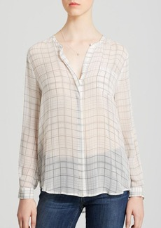 Joie Blouse - Nyree Plaid