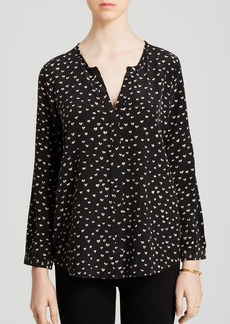Joie Blouse - Purine Painted Hearts