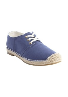 Joie blue canvas 'Hemlock' raffia midsole sneakers