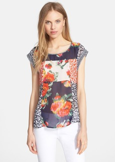 Joie 'Bohan' Print Silk Top