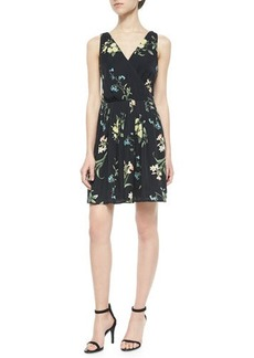 Joie Braydon Floral-Print Silk Dress  Braydon Floral-Print Silk Dress