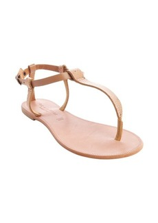 Joie bronze snake embossed leather 'Shoal' sandals