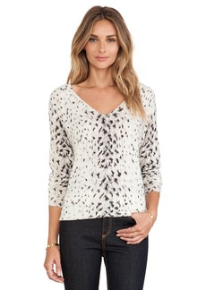 Joie Brooklyn Animal Print Sweater