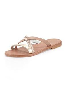 Joie Buenaventura Slip-On Sandal, Nude/Multi