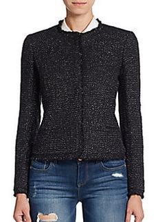 Joie Calimesa Metallic Tweed Jacket