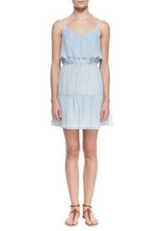 Joie Carlissa Silk Sleeveless Scoop-Neck Dress