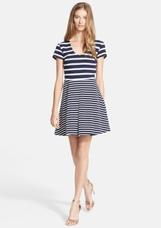 Joie 'Chikara' Stripe Fit & Flare Dress
