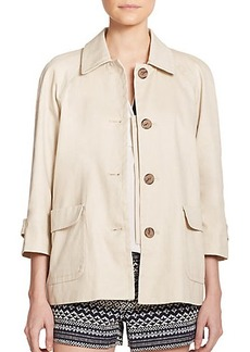 Joie Clodia Cotton Twill Jacket