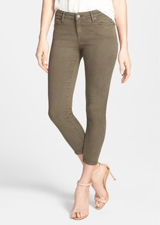 Joie Colored Crop Stretch Skinny Jeans (Fatigue)