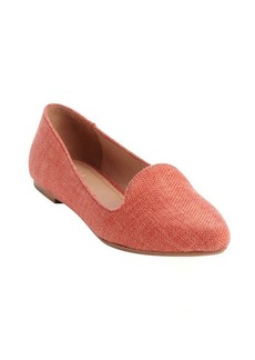 Joie coral raffia 'Day Dreaming' smoking flats