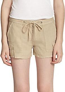Joie Corinthia Linen Shorts