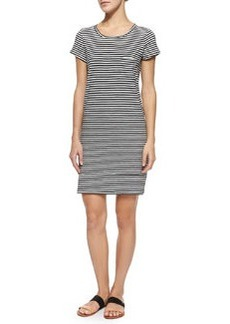 Joie Courtina Striped Cotton Sheath Dress
