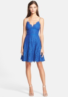 Joie 'Damasia' Lace Fit & Flare Dress
