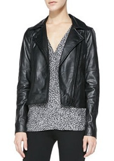 Joie Davey Lambskin Leather Jacket