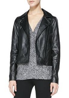 Joie Davey Lambskin Leather Jacket
