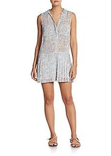 Joie Dayahna Floral Silk Short Jumpsuit
