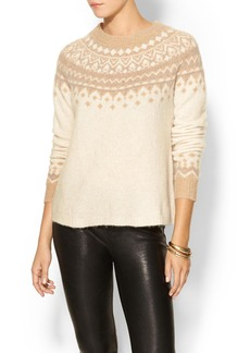 Joie Deedra Fairisle Sweater