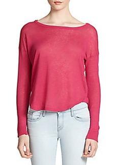 Joie Demilla Linen & Silk Sweater