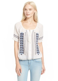 Joie 'Dolina E' Embroidered Top