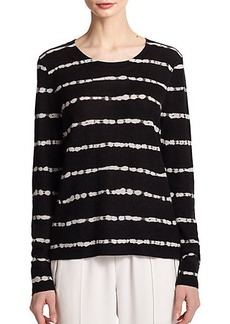 Joie Dorianna Striped Cashmere Sweater