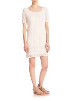 Joie Eavan Crochet Dress