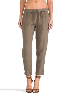 Joie Edana Linen Pant in Brown