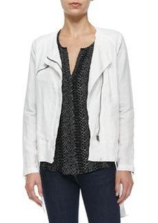 Joie Edda Linen Zip Jacket
