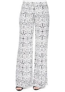 Joie Egro Wide-Leg Silk Pants