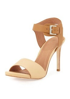 Joie Elery Naked Two-Tone Sandal, Natural/Cuoio