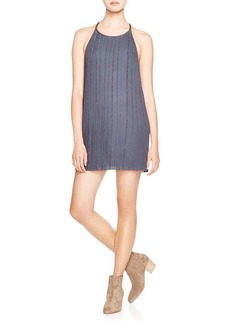 Joie Elinana Chain Trim Crepe Dress