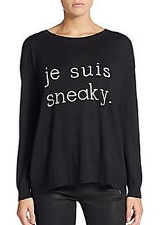 Joie Eloisa 'Je Suis Sneaky' Sweater