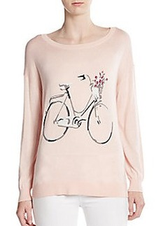 Joie Eloisa Wool & Cashmere Bicycle Sweater