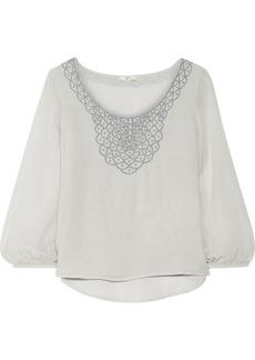 Joie Ephemere silk-chiffon blouse